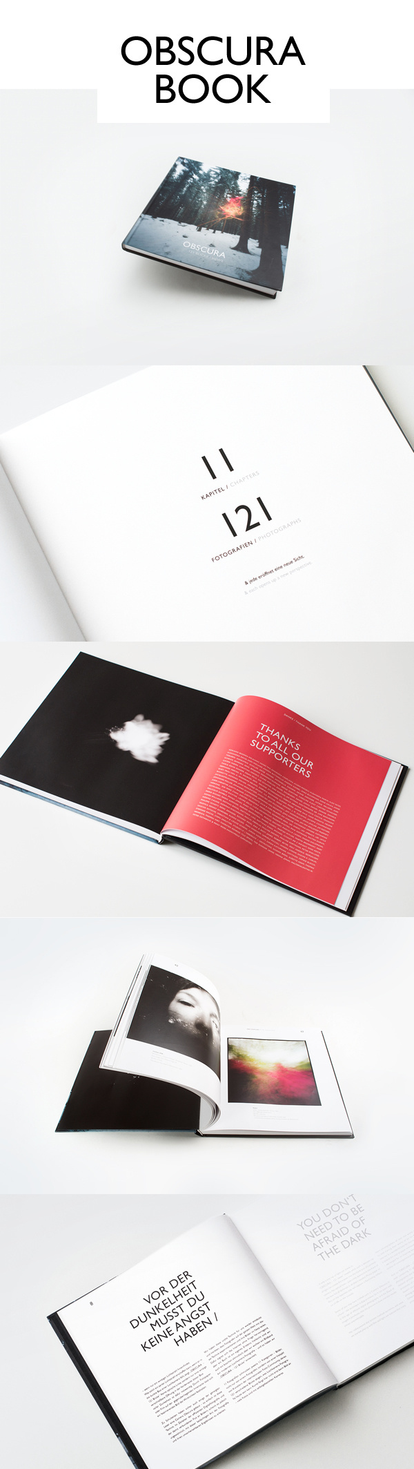 OBSCURA BOOK – 121 Views / LAUNCH on Behance #design #graphic #book #photography #layout