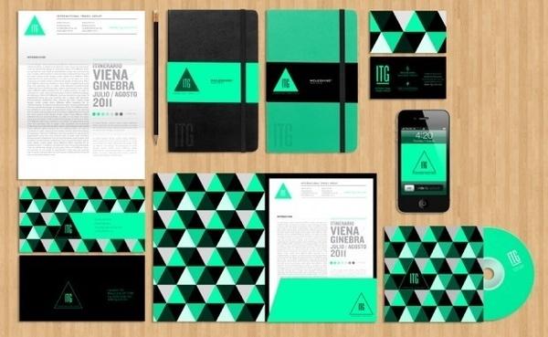 identity | grafic life #triangle #identity #stationary