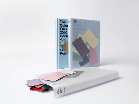 The Colour Envelope : Studio Laucke Siebein #envelope #book