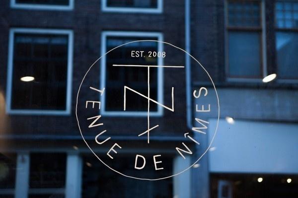 Tenue de Nîmes Haarlemmerstraat | Another Something #logo #identity