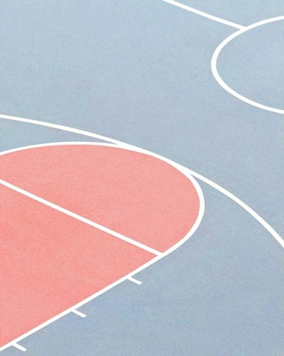 Source: Flickr / aviewthroughmyeyes #lines #court #geometric #photography #sport #basketball