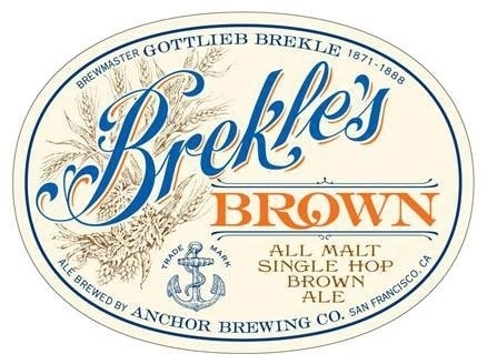 Brekless-Brown-Anchor-Brewing.jpg 438×328 pixels #beer #typography