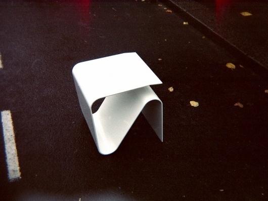 All sizes | plaid stool | Flickr - Photo Sharing! #studak #white #plaid #furniture #aluminium