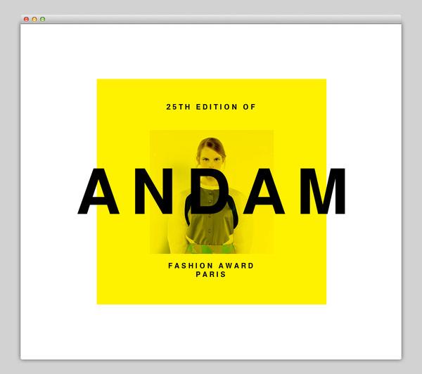 Association Nationale pour le Développement des Arts de la Mode #website #layout #design #web