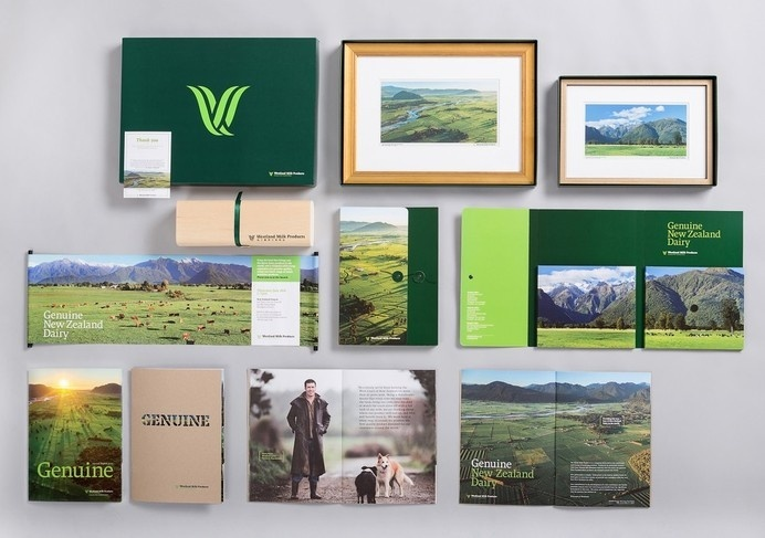 Best Awards - Q Brand Agency. / Westland Milk Products #branding