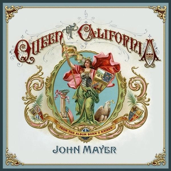 Queen-of-California-artwork.jpg (1000×1000) #album #design #cover #vintage #ornamental #typography