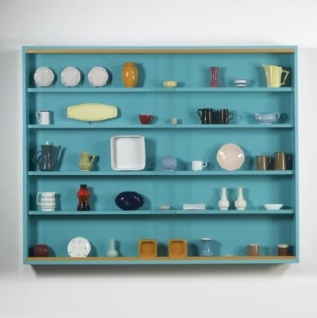 The Supermarket #vessels #shelves #sculpture #hirst