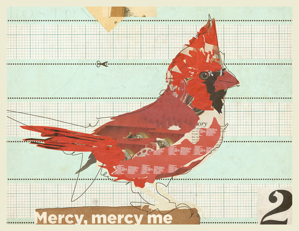 """Mercy me"" #cut #illustration #collage #paper"