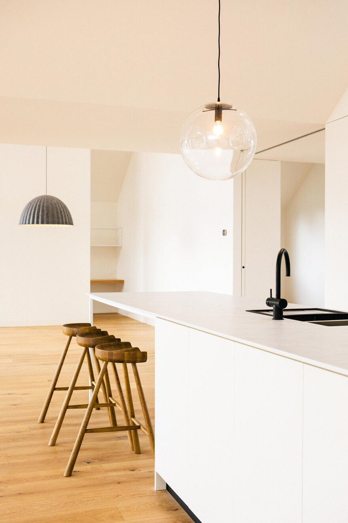 Scandi House - a Luxury, Pared Back Home with Stunning Geometric Forms