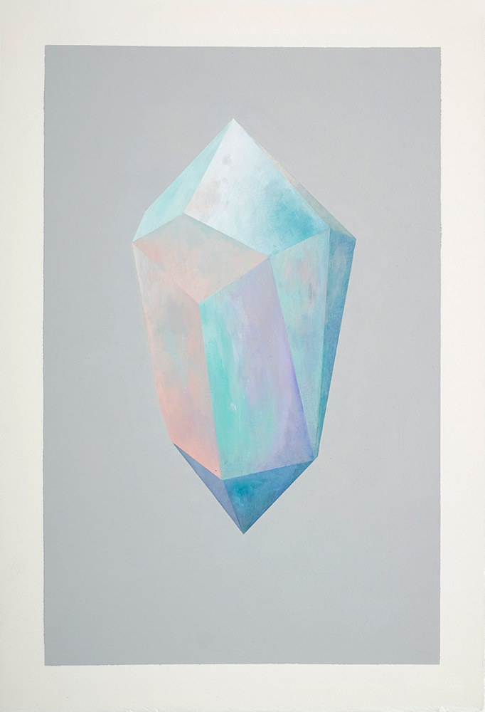 Tesseract (crystals) - Rebecca Chaperon