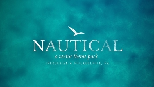 Free Vector Set « Zomg I'm Bored #vector #philadelphia #bird #blue #nautical