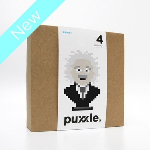 puxxle — Albert #albert #puxxle #puzzle #pixel #vinyl #wall #art #game