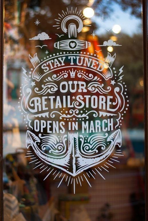 Austin, Texas by Michael Tangonan #inspiration #lettering #hand #typography