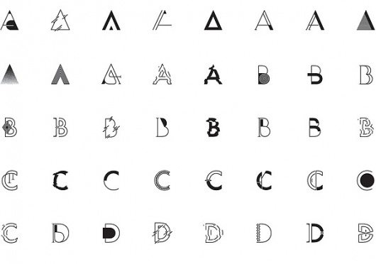 Lavafilm on the Behance Network #typography