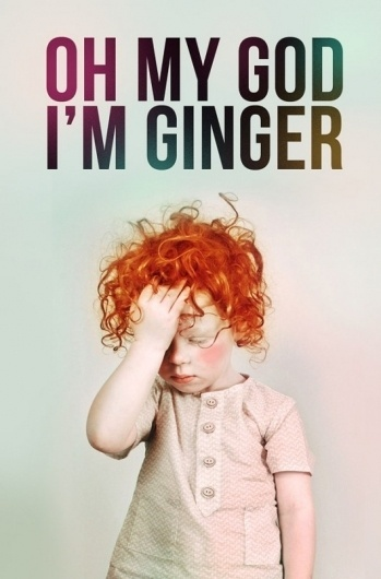Piccsy :: ginger kid #hair #typogrpahy #ginger #gothic