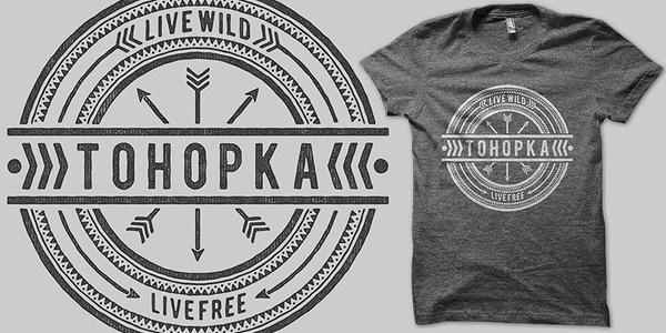 Tohopka T shirt design by binxent Mintees #shirt