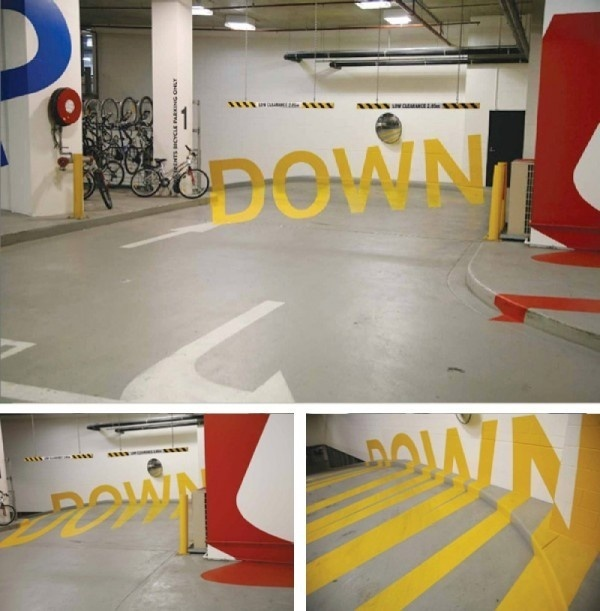 creative art down #of #point #view #typography
