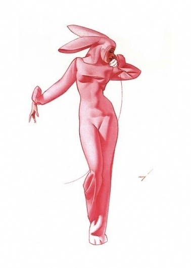 """What's up Doc?"" - The Year of the Rabbit  this isn't happiness.™ #pink #pin #rabbit #up"