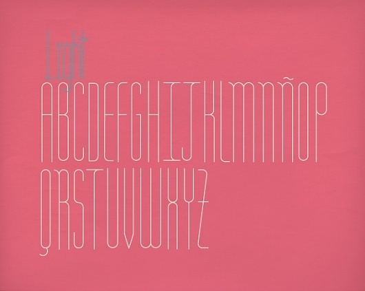 MONAMOUR Type on Typography Served #typography