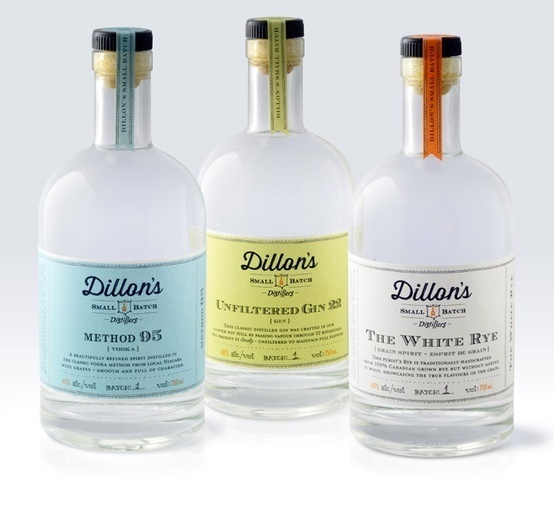 Dillon's Small Batch Distillers,  Designed by Insite Design