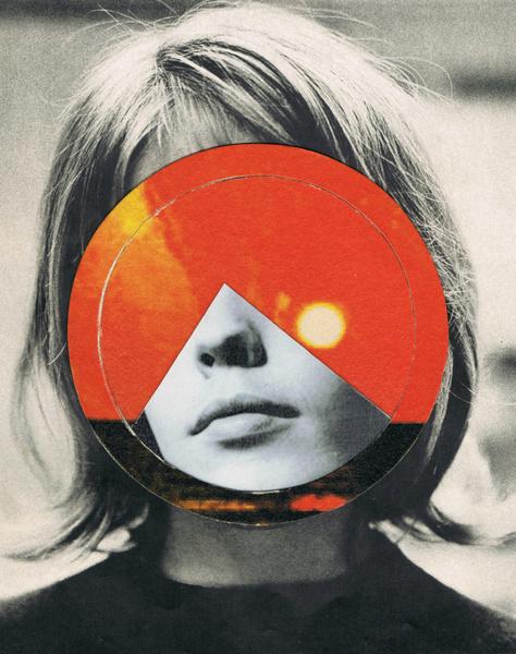 girls Art Print #circle #print #art #girl