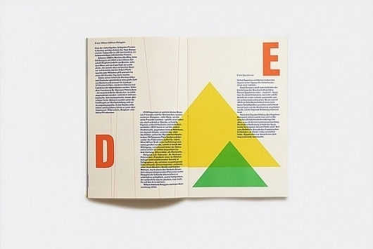 seesaw.: color, shapes, typography. #spread #graphic