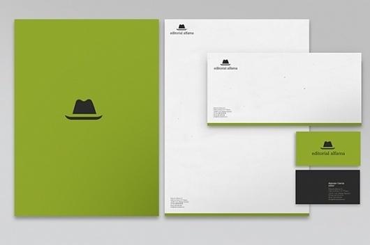 Modesto García · Diseño de Identidad Corporativa #editoria #spain #branding #madrid #malaga #alfama #garca #modesto #hat