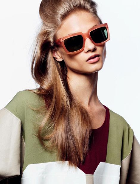 Sepp, Anna Selezneva, Magazine #fashion #glasses #photography #woman