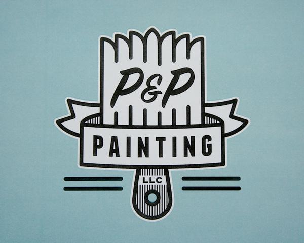 P&P Painting #logo #identity