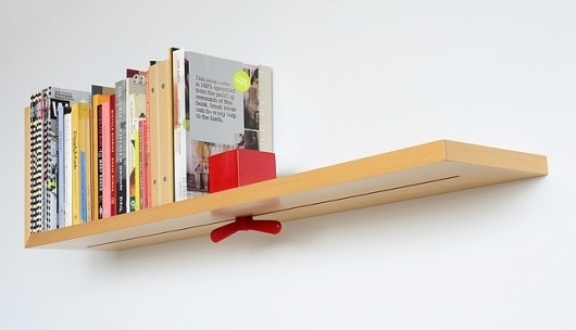 Hold On Tight Shelf - Live/Work Design Contest - Dwell #tight #shelf #book #hold