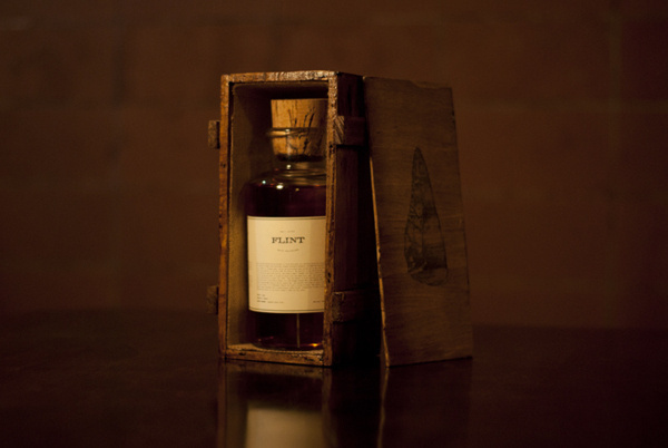 Flint on Behance #packaging #whiskey #alcohol