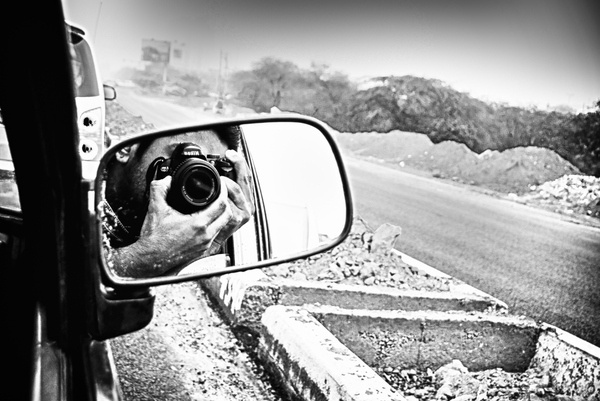 through mirror #profile #picture #photography #photographer