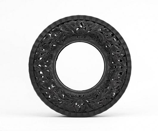 plenty of colour #carved #tires