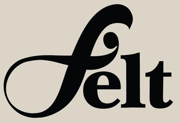 Felt. on Branding Served #type #lettering #identity #logo
