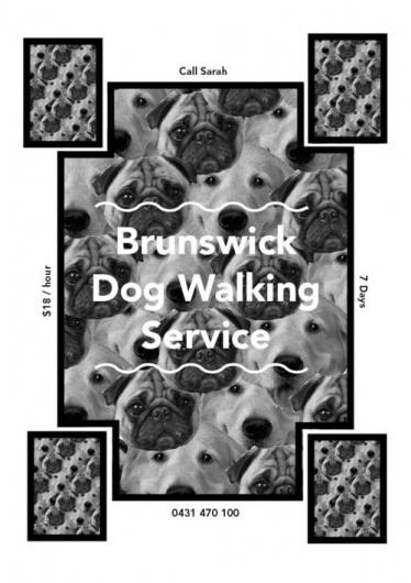 ▲ D A V I D T Ø R R ▲ #walking #print #poster #dog
