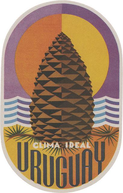 Uruguay Badge Illustration #illustration #colors