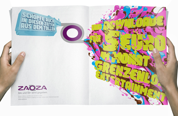 Zaoza 2 #illustration #design #graphic #typography