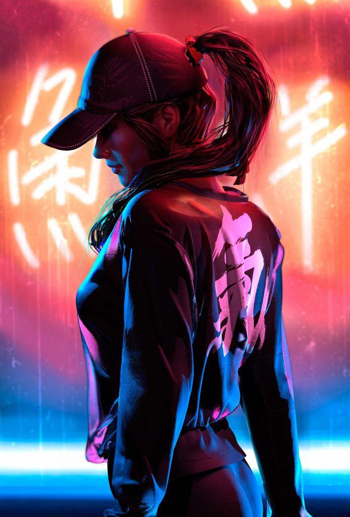 Neon Study, Oskar Woinski