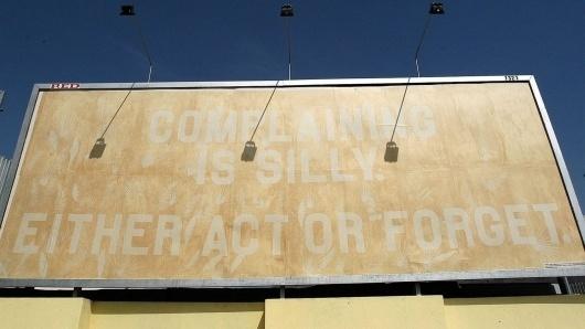 Featured Work | Sagmeister Inc. #sagmeister #billboard