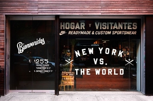 Doubleday & Cartwright #storefront #nike #window #york #new