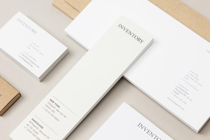 Inventory Stationery #identity #branding #stationery