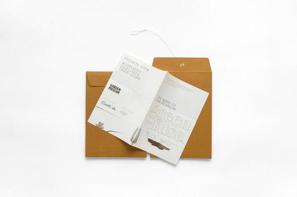 Green_Fuse_Invite_1 #invitation #logo #identity #type #typography