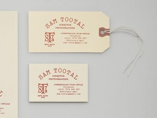 Manual - Sam Tootal #stationary #design #branding