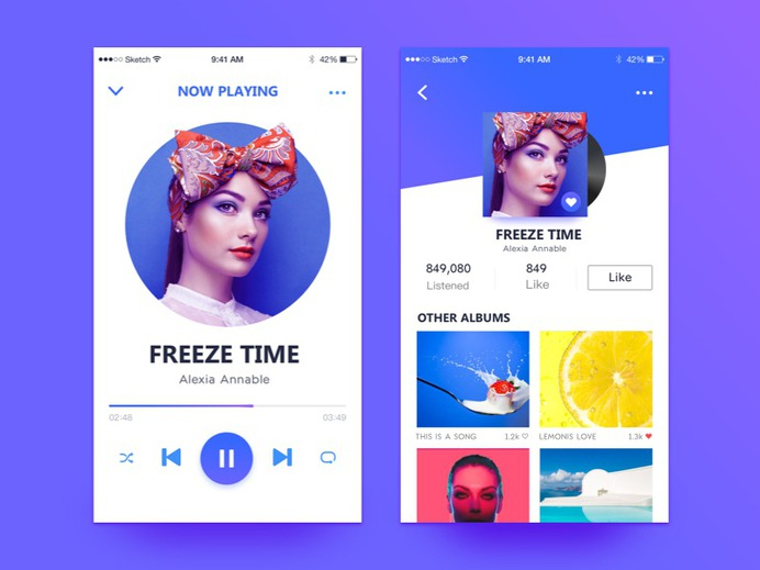 Music App by MoRing