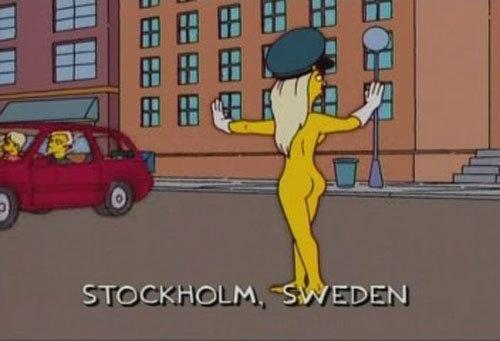 M O O D #animation #girl #simpsons #seden #blonde #stockholm #cartoon