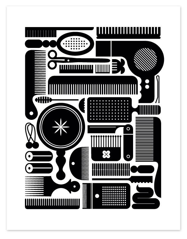 1282761631brush #dryer #grooming #mirror #illustration #brush #blow #comb