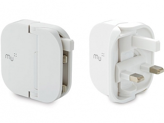 The Mu ~ The Folding Plug System for UK is Finally Here! #plug #uk #design #product #concept