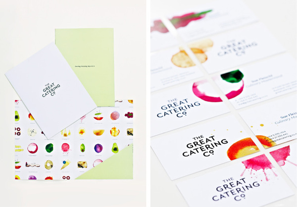 The Great Catering Company gcc 07 #identity #branding