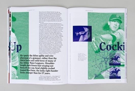 Spin — Print Magazine #motion #print #spin #baseball #editorial