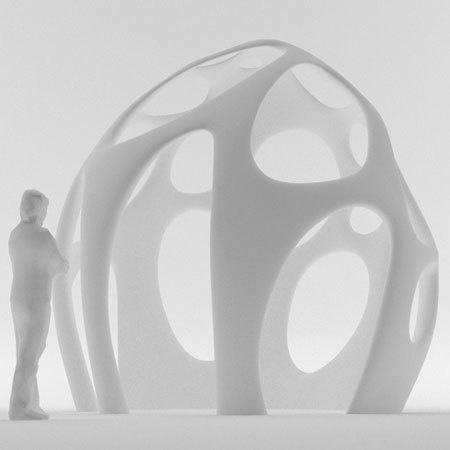 Radiolaria pavilion by Shiro Studio #print #architecture #3d